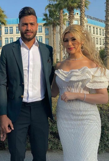 Muhammad Abu Jabal gets married in a family party today (1)