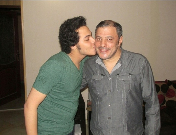 Amr and his son Abdel-Jalil