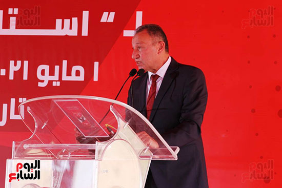 Ceremony laying the foundation stone for Al-Ahly Stadium (38)