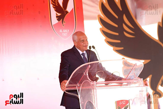 Ceremony laying the foundation stone for Al-Ahly Stadium (58)
