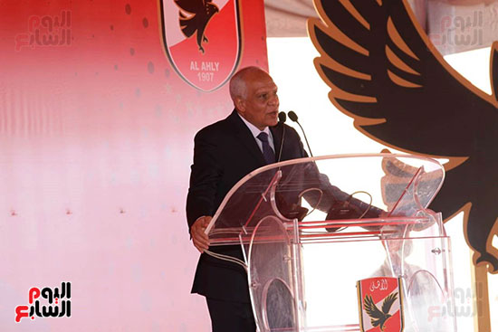 Ceremony laying the foundation stone for Al-Ahly Stadium (60)