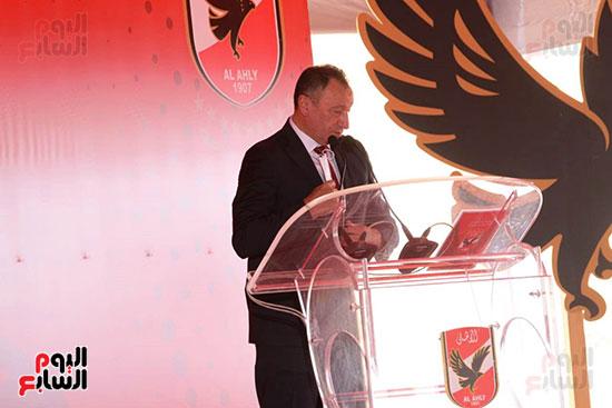 Ceremony of laying the cornerstone of Al-Ahly Stadium (34)