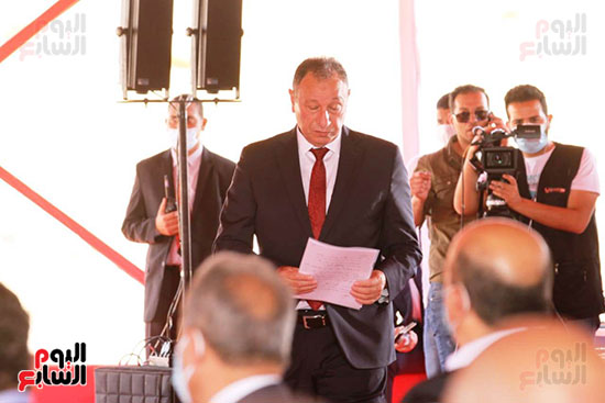 Ceremony laying the foundation stone for Al-Ahly Stadium (52)
