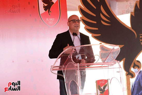 Ceremony for laying the cornerstone of Al-Ahly Stadium (56)