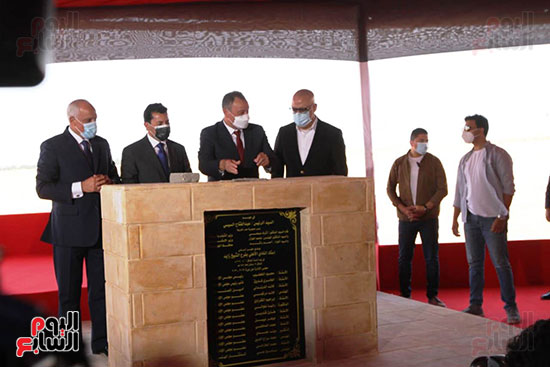 Ceremony laying the foundation stone for Al-Ahly Stadium (66)