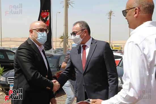 Ceremony laying the foundation stone for Al-Ahly Stadium (30)