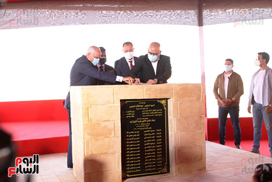 Ceremony laying the foundation stone for Al-Ahly Stadium (68)