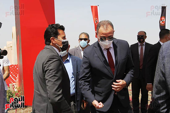 Ceremony laying the foundation stone for Al-Ahly Stadium (20)
