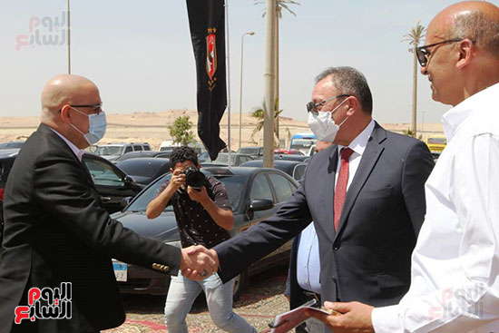 Ceremony laying the foundation stone for Al-Ahly Stadium (28)