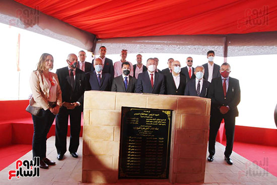 Ceremony laying the foundation stone for Al-Ahly Stadium (69)