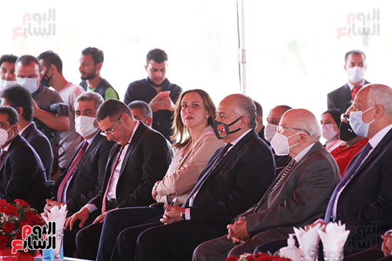 Ceremony laying the foundation stone for Al-Ahly Stadium (31)