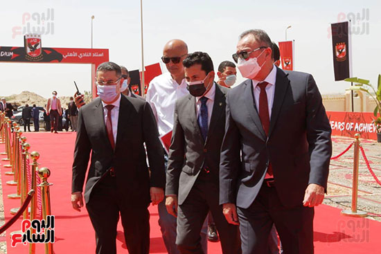 Ceremony laying the foundation stone for Al-Ahly Stadium (26)