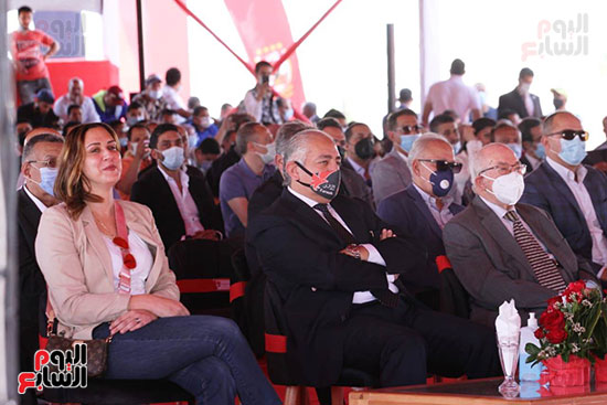 Ceremony for laying the cornerstone of Al-Ahly Stadium (40)