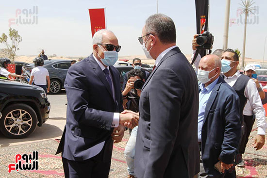 Ceremony laying the foundation stone for Al-Ahly Stadium (12)