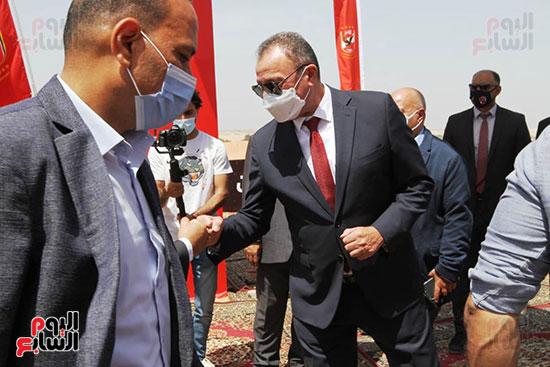Ceremony of laying the cornerstone of Al-Ahly Stadium (21)