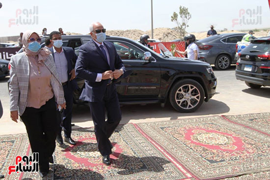 Ceremony laying the foundation stone for Al-Ahly Stadium (10)