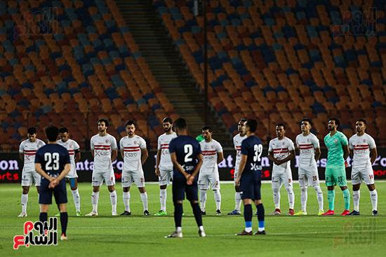 Zamalek and Wanbi match (2)