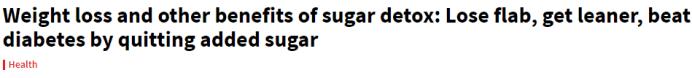 Sugar toxins