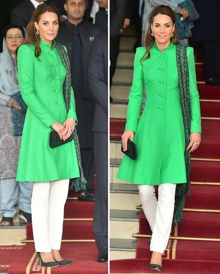 Kate Middleton in heels