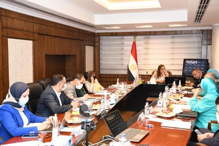 وزيره التخطيط خلال اجتماعها مع الصندوق