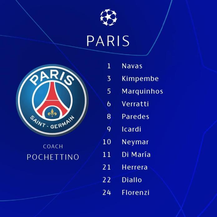 Formation of Paris Saint-Germain