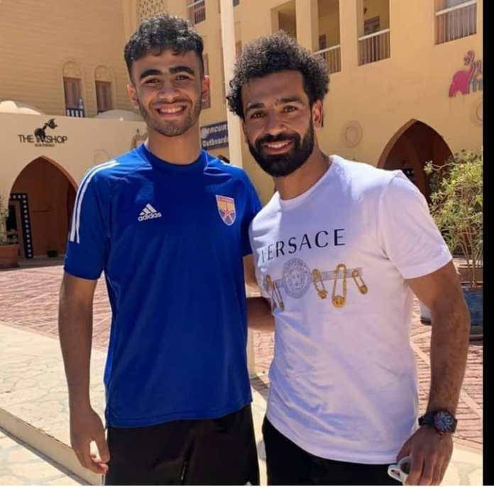Mohamed Salah and El Gouna players (1)