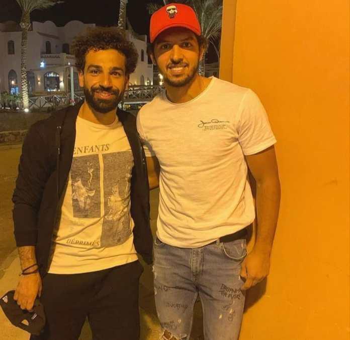 Mohamed Salah and Amr Barakat