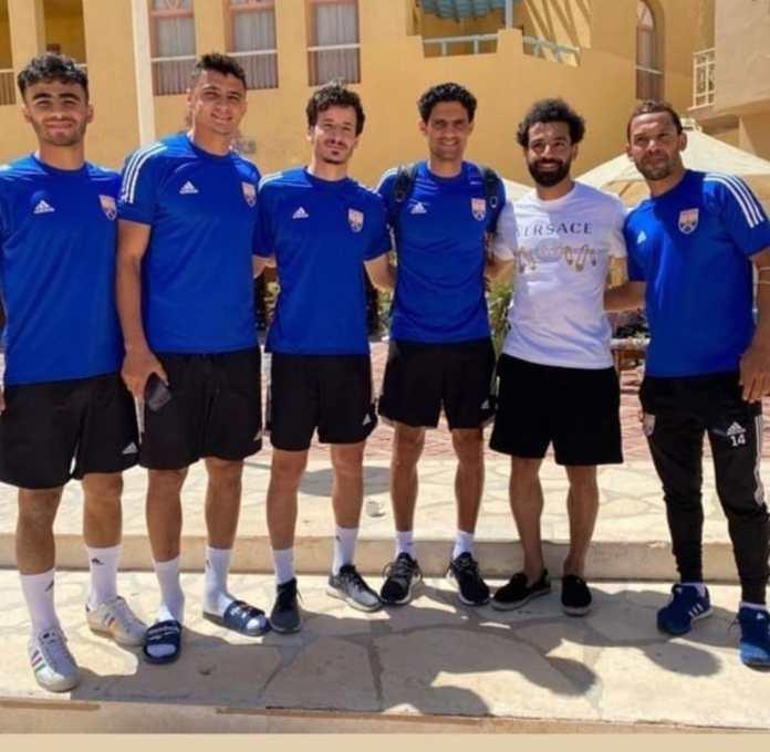 Mohamed Salah and El Gouna players (2)