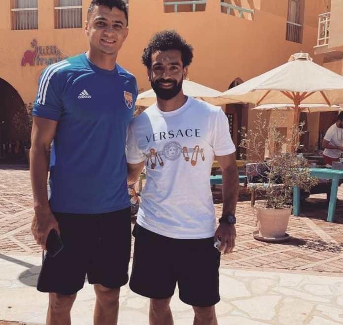Mohamed Salah and Omar Al-Saeed
