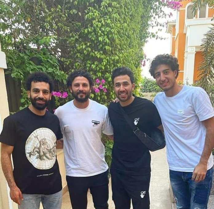 Mohamed Salah, Ghali, Trezeguet, and Hani