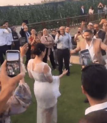 Farraj and Basant Shawky's wedding