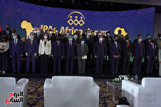 المنتدى الأول لرؤساء هيئات الاستثمار الأفريقية المنعقد بشرم الشيخ (8)