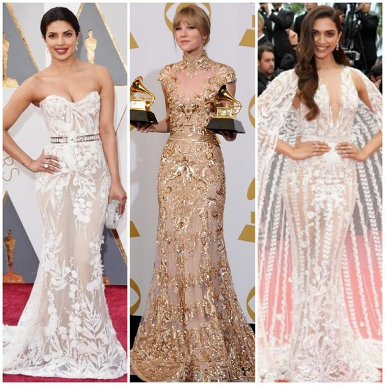The most beautiful celebrity dresses on the red carpet signed by Zuhair Murad (2)