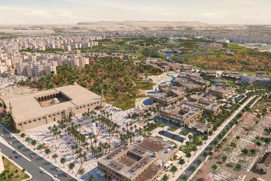 مخطط تطوير حديقة الفسطاط (2)