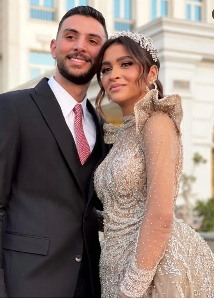 El-Hadary's daughter's wedding (1)