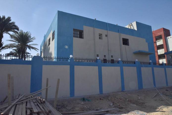 Assiut Governor inspects the construction of Al-Tanagha Al-Sharqiah Secondary School and a firefighting unit in Sahel Selim (11)