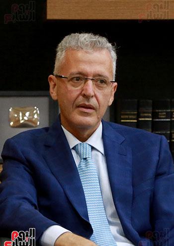 الرئيس التنفيذى لجى بى غبور أوتو فى زيارة لـاليوم السابع (6)