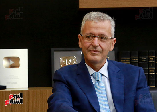 الرئيس التنفيذى لجى بى غبور أوتو فى زيارة لـاليوم السابع (8)