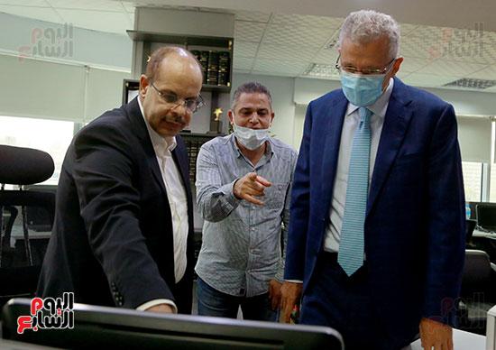 الرئيس التنفيذى لجى بى غبور أوتو فى زيارة لـاليوم السابع (24)