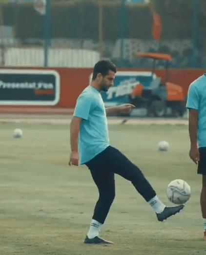 محمد محمود في تدريب الأهلي