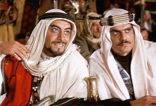 Beautiful Rateb and Omar Sharif
