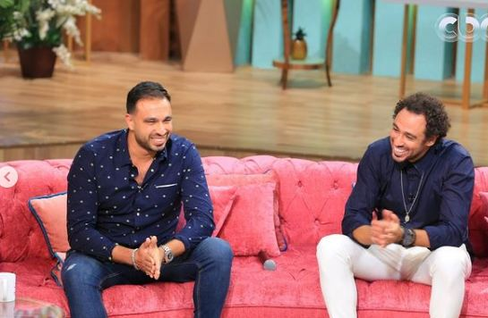 Ramy and Hisham Ashour in the program with you