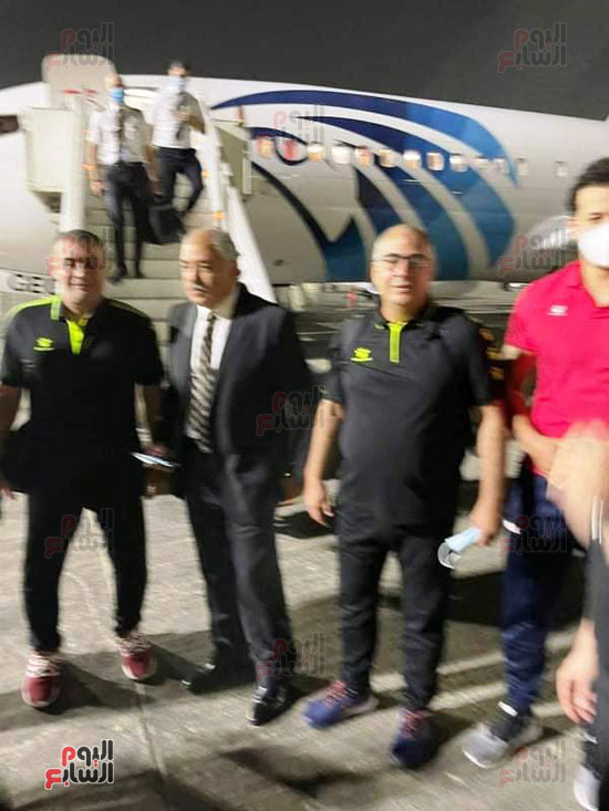 Al-Ahly delegation arrives in Cairo crowned with the title of African Cup Winners' Cup (7)