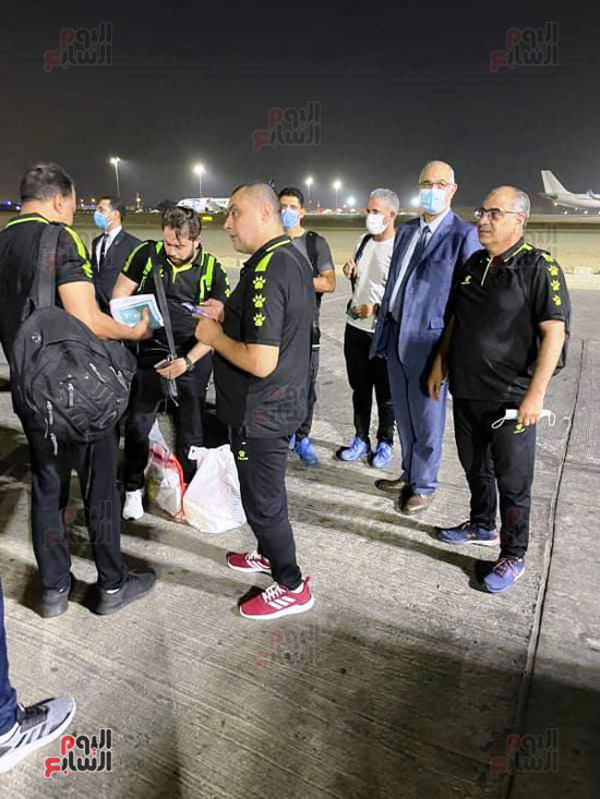 Al-Ahly delegation arrives in Cairo crowned with the title of African Cup Winners' Cup (6)