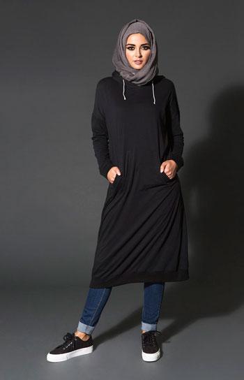 10 موديلات ملابس محجبات عملية للجامعة مريحة وألوانها جذابة