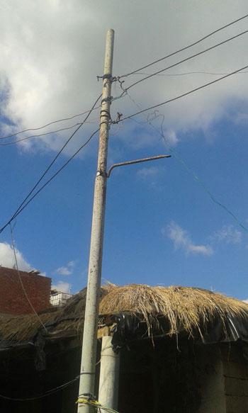 صحافة المواطن ، سرقة الكهرباء ، محافظة الدقهلية ، اسلاك كهربائية ، مركز بلقاس،  (6)
