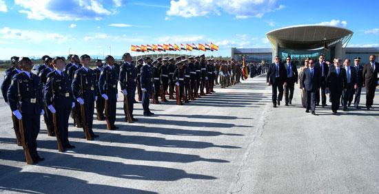 الحرس الجمهورى يستعرض مراسم زيارة الرئيس السيسى مقر مجلس النواب الإسبانى -اليوم السابع -5 -2015