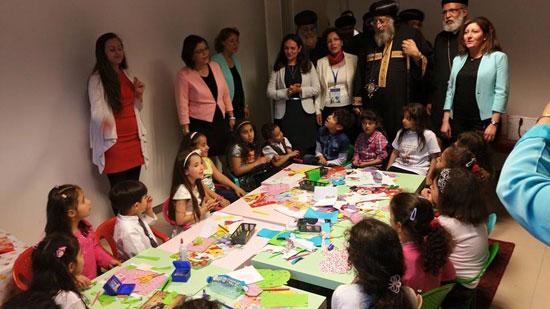 البابا تواضروس الثاني يستعرض أنشطة الخدمة التي تقدمها الكنيسة لأبنائها -اليوم السابع -5 -2015