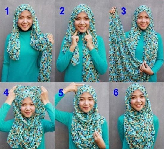 بالخطوات والصور 6 لفات حجاب سهلة وبسيطة للصيف اختارى اللى