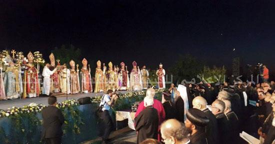 البابا تواضروس يشارك فى صلوات صنع الميرون بلبنان -اليوم السابع -7 -2015